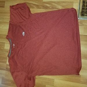 North face Red T shirt men's large